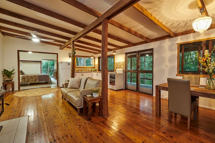 Spacious modern interior with all the comforts