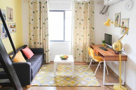 渤海家园北欧风格装修小资复式小屋 - Qinhuangdao - Casa