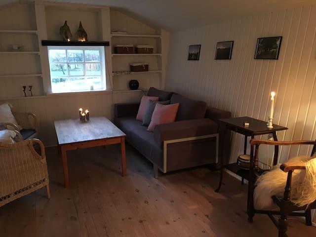 Hyggelig hytte - bo simpelt, men sofistikeret