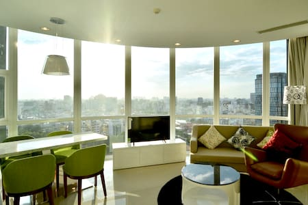 CITYHEART, Breathtaking SUNSET VIEW Apt, 2BR 85M2 - Nguyễn Thái Bình - Apartment