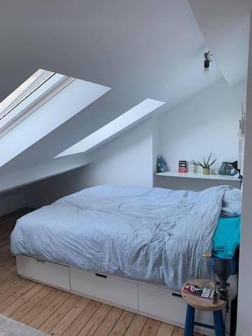 Très belle chambre avec salle de bain privative