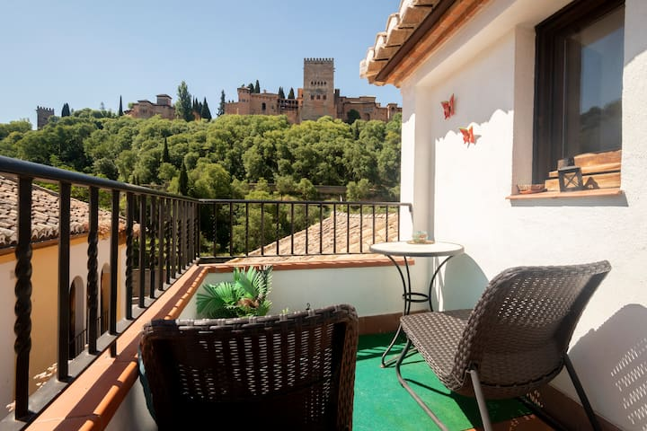LOVELY ALHAMBRA VIEWS ALBAICIN!!!A/C