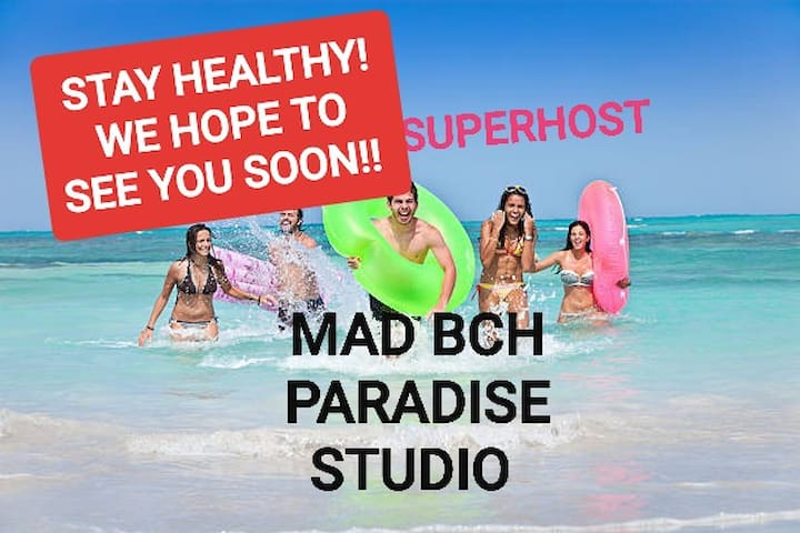 Mad Bch Paradise Studio**MAY NOW $59 PN**
