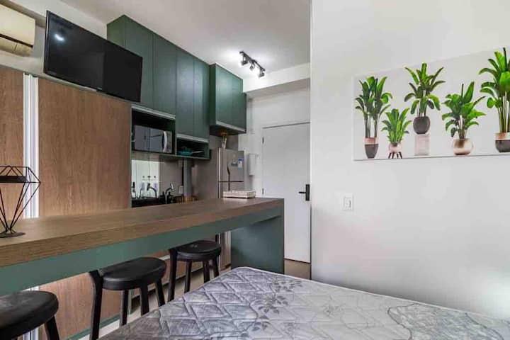 Apartamento Studio novo / 200 mts metrô Vergueiro