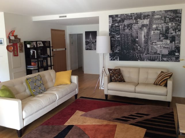 Spacious and new 2bed apartment with lots of light - Geneve - Huoneisto