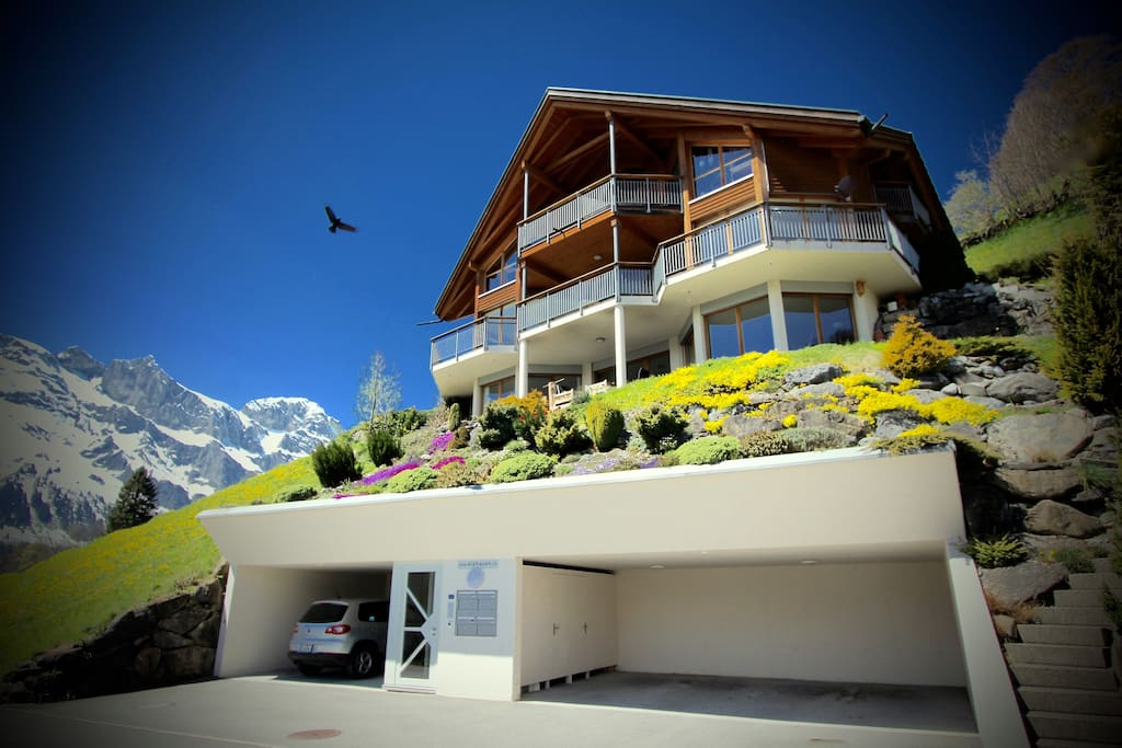 ALPHAVEN  Front of House featuring Garage Parking. Apartment B is on the Lower Floor