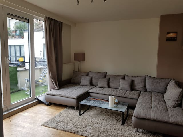 Very nice duplex in the center of brussels.