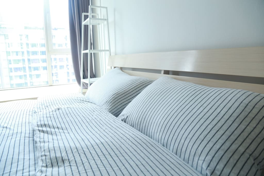 Fresh bedding available upon request!