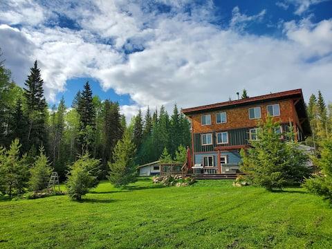 G.R.OW.L Golden Rockies Outdoor Wilderness Lodge.