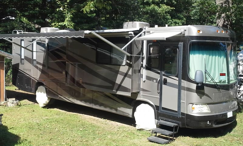 40 foot RV-brought to your location or campground