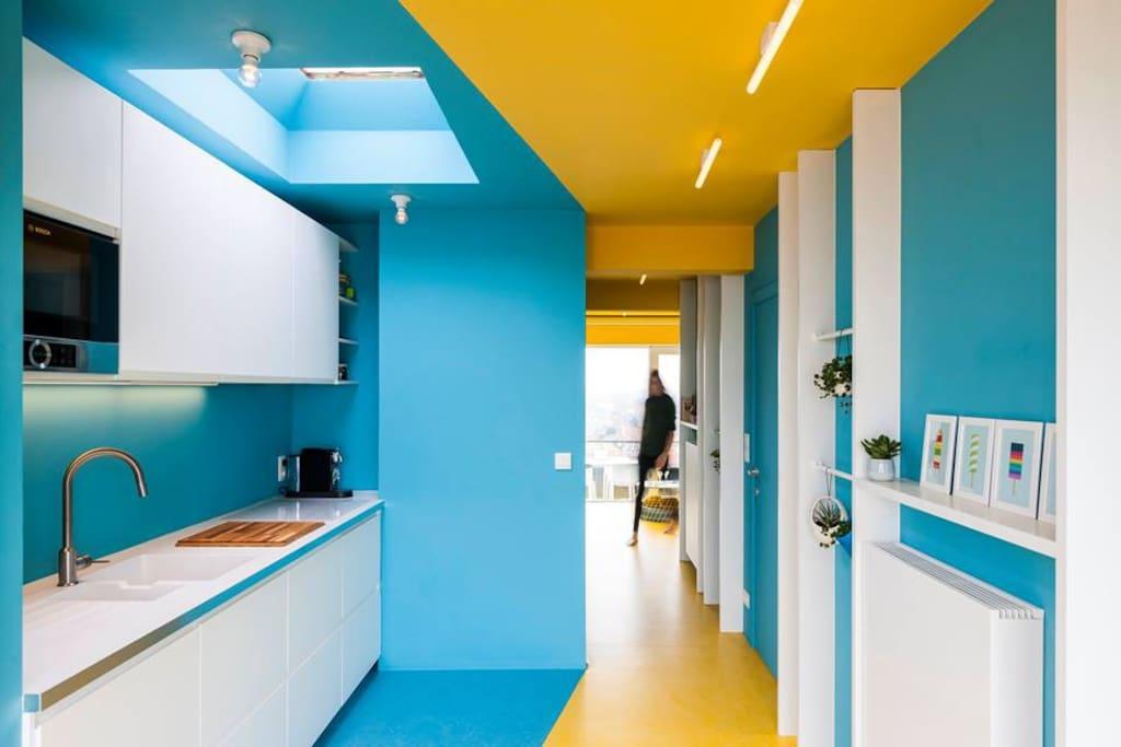 Keuken - doorzicht  foto (c)LucRoymans