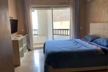 appartement vue sur mer à la kasbah bouznika