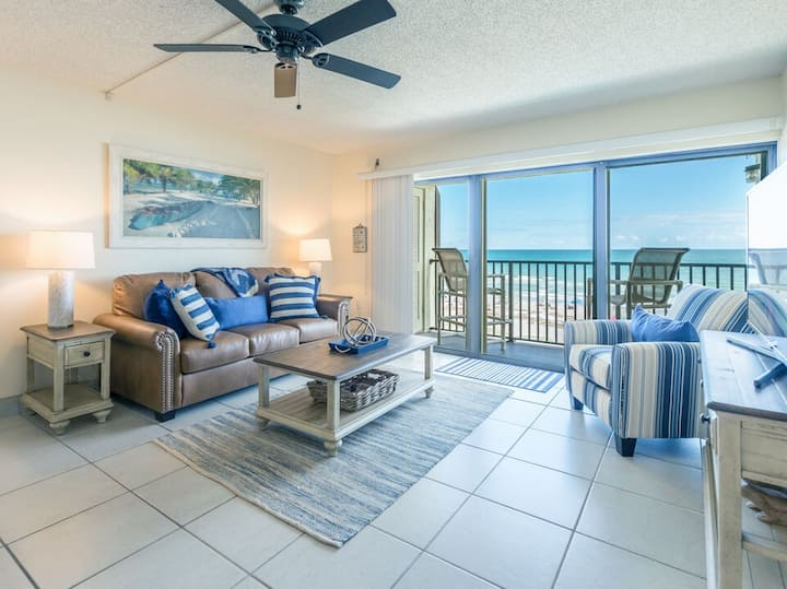 Direct Oceanfront View - Next to the Pier - Penthouse