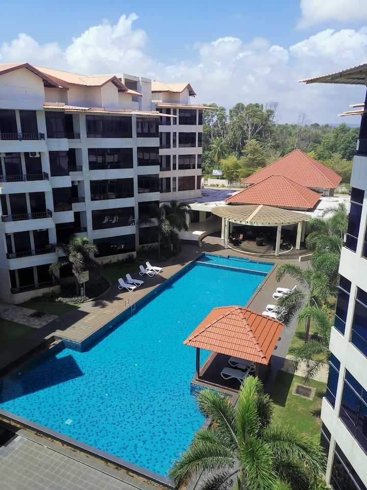 1 Bedroom, Samsuria Beach Apartment Resort