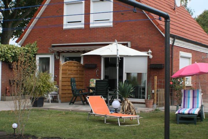 Ferienwohnung im Haus Irmgard (Nörderland) Norden, Ostfriesland, küstennah