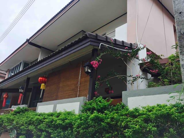 Homes for families Baan Fahsai TheCity 蓝天悦居独栋屋