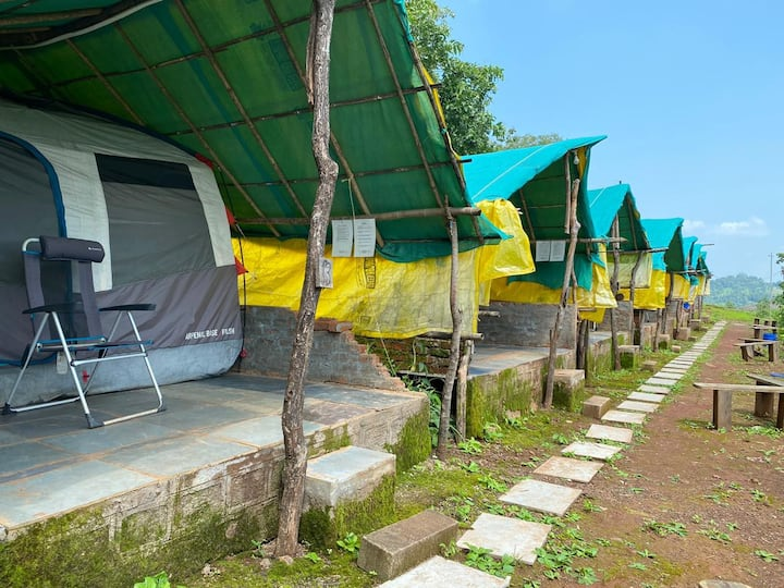 Deluxe Tent with all meals near Igatpuri.
