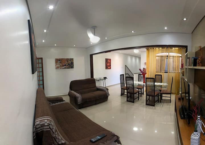 🌞 Casa Vila Belmiro  ⛱ Santos