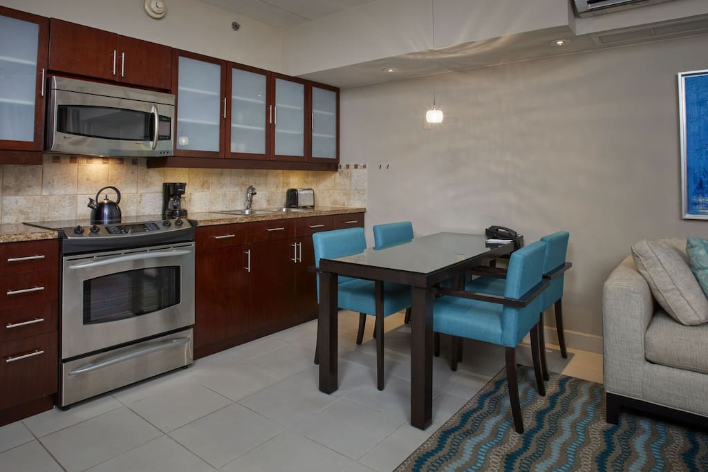 Junior Suite kitchen