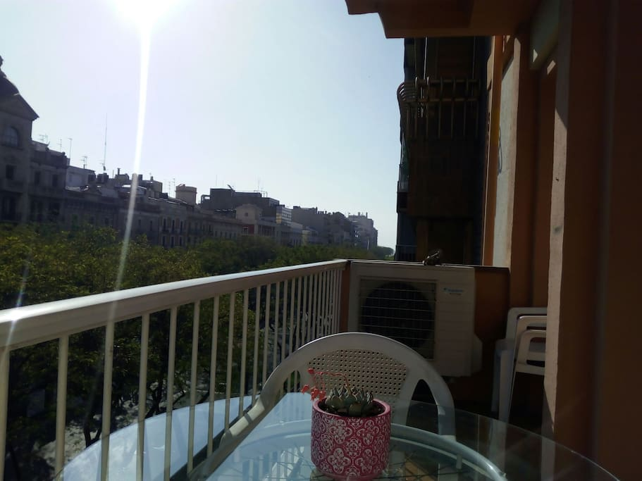 Balcón a Rambla Nova