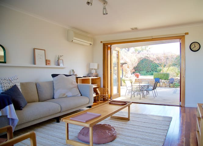Living area - opening to courtyard
