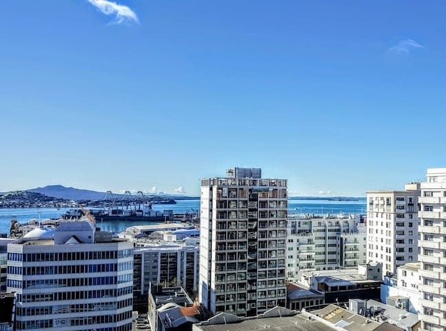 Gem in the City! Great View 1-BR Apt #AKL #NZ