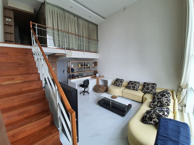 Spacious lofts style 2BR at the heart of Jakarta
