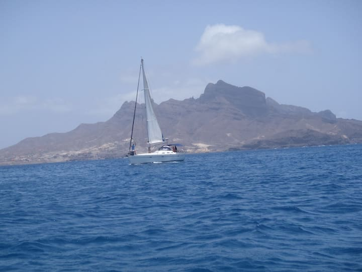 Segelyacht C'alma, Marina Mindelo, Kap Verde