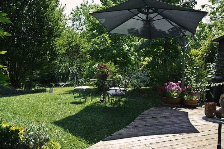 Teapot House B&B con giardino a Perugia