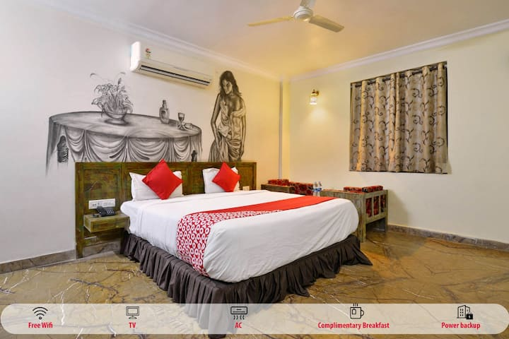 Classic room in OYO 1006 Hotel Red Fort