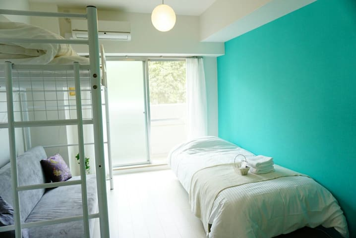 SD1#10MIN to JR Station, Lovely&Tidy sunny room - 芦屋市 - Lägenhet