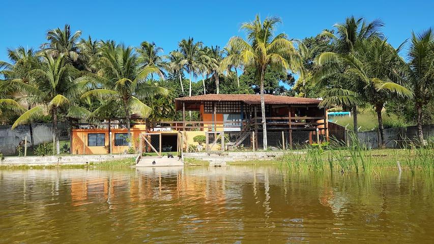 Casa da Lagoa em Meaípe