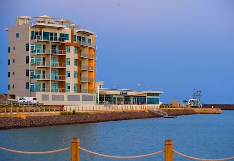 Wallaroo Marina Apartment with Sea & Marina Views