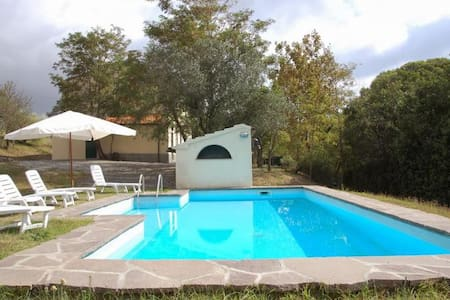 Nice apartment on the hills with lawn and pool - Rosignano marittimo - Wohnung