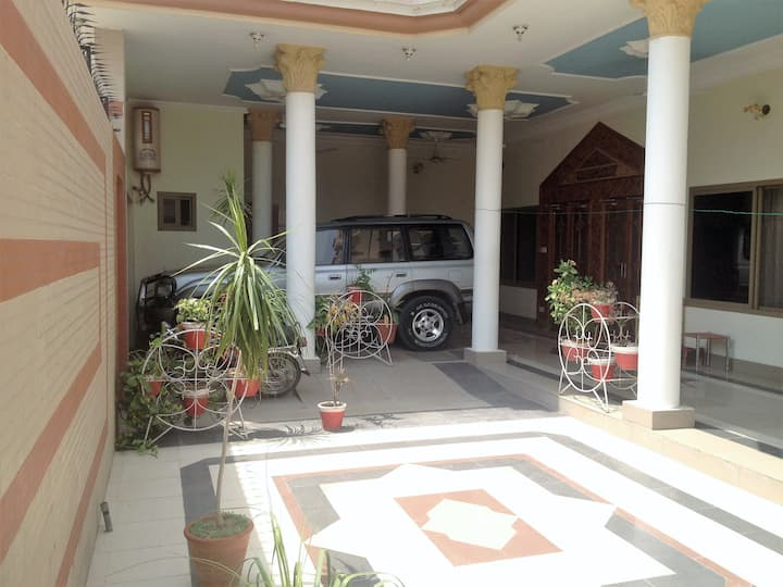 Mangla Luxury Accomadation.