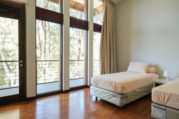 Each Bedroom has View to the Nature (2nd Floor)