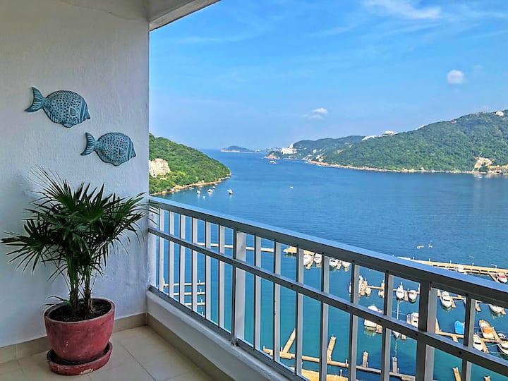 Depto con vista al mar Acapulco Diamante!!!