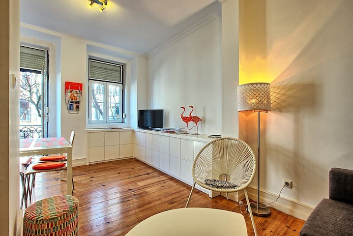 Very bright and spacious flat-lisbon center-tram28