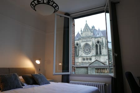 Comfortable flat with an exceptional view - Reims - Apartmen