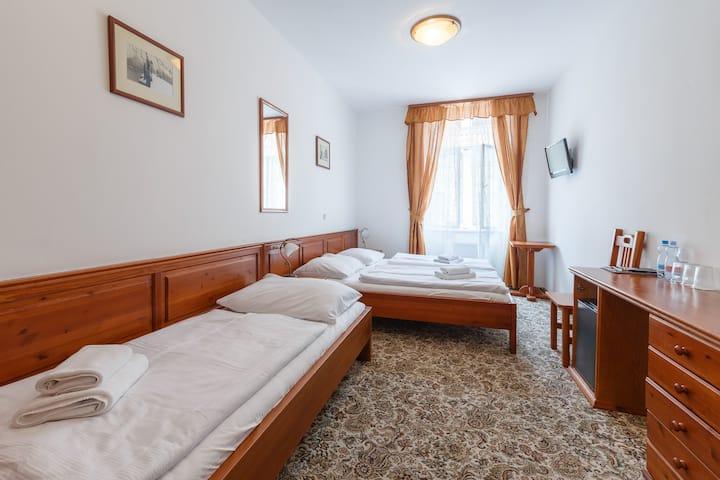 Soukromý pokoj pro 3 osoby v centru Prahy