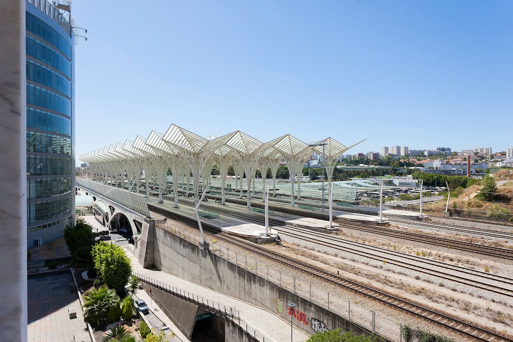 "Train Stations ""gare do Oriente"""