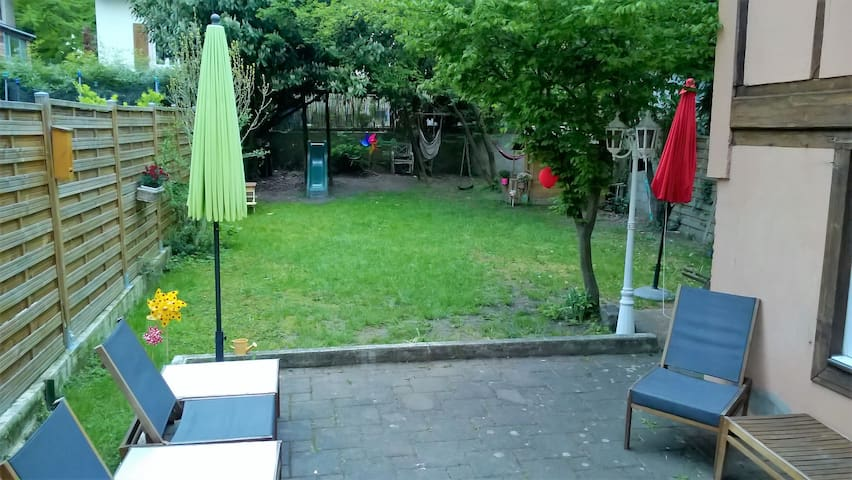 Etage privatif dans maison familiale - Mulhouse - Espais annexos