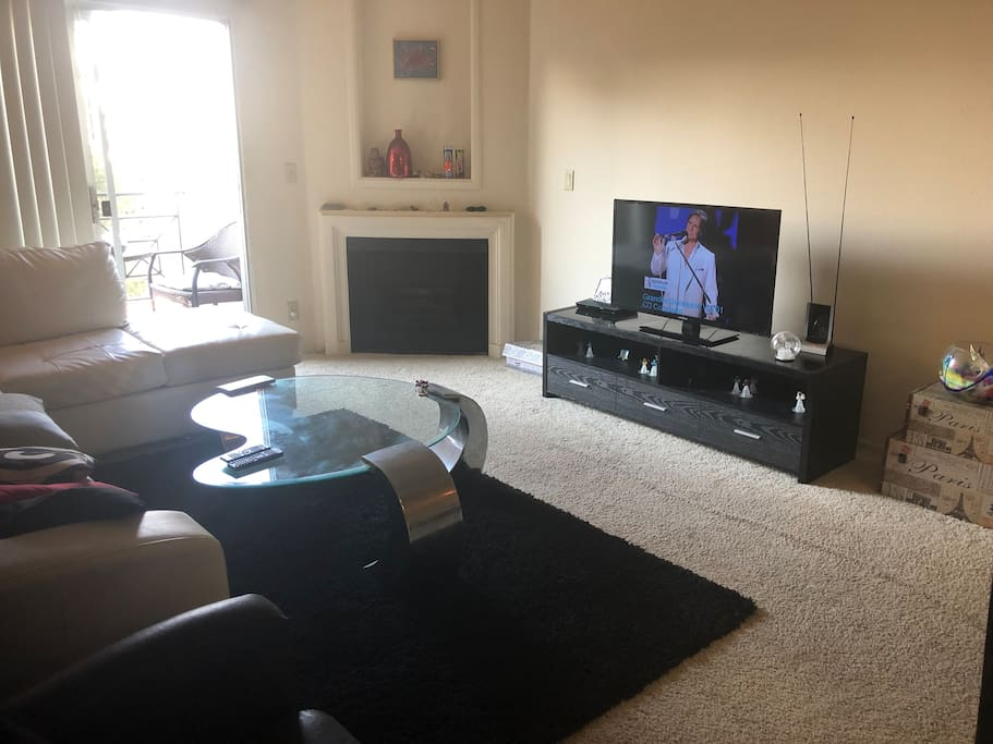 Living Room - TV, DVD, WiFi, Netflix
