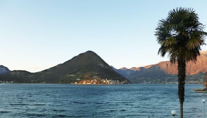 Romantico appartamento in riva al Lago d'Iseo - Sulzano - Leilighet