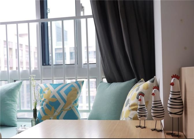 苏宁总部旁仙林大学城附近北欧风情酒店式公寓