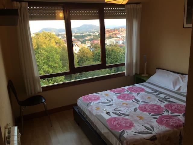 Habitación con cama de matrimonio - Donostia san sebastian