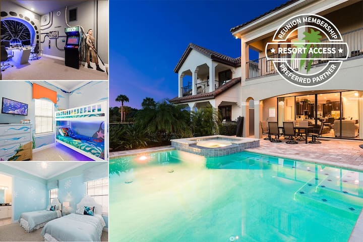Reunion Villa with Amazing Games Room and Kids Bedrooms!   267