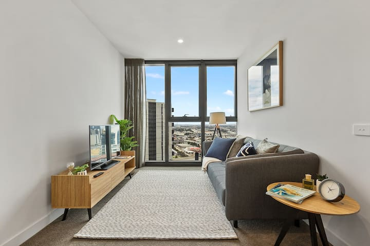 High-rise Southbank apt with stunning views #