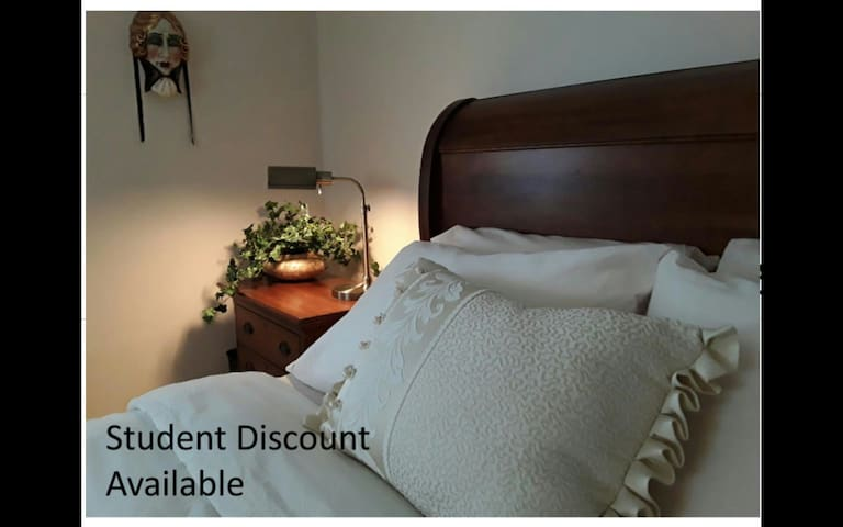 Room on Quiet Street by Hospital-STUDENT DISCOUNT* - Bay City - Dom