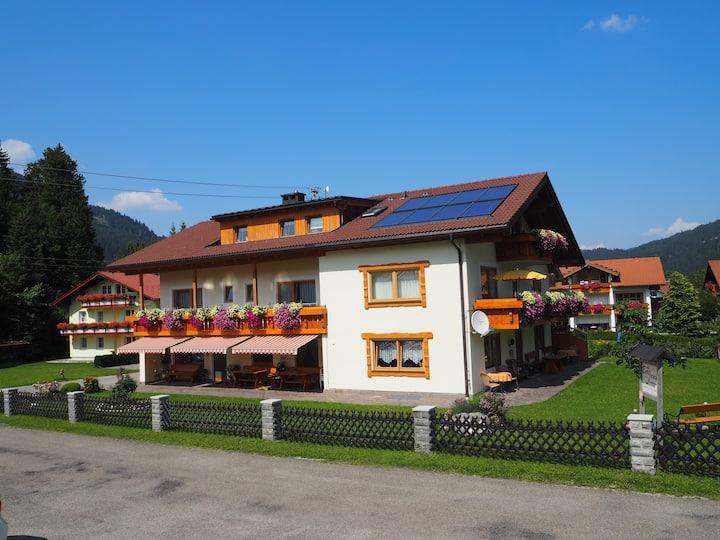 Doppelzimmer im Allgäu mit gratis Bergbahnkarten
